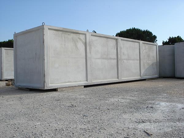 Vasca Da Lavare In Cemento : Cisterne prefabbricate in cemento armato vibrato