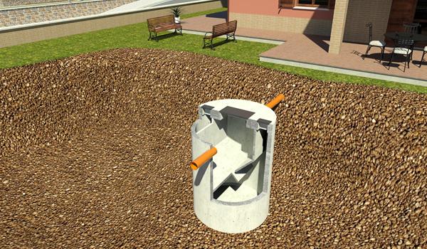 Fosse imhoff prefabbricate in cemento armato vibrato for Fosse settiche in cemento